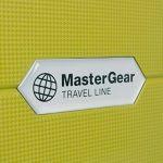 MasterGear - Set de 3 Valises en polypropylène à Fermeture éclair ultra légère et mobile - 4 Roulettes (360 °) - Valise rigide - Cadenas TSA - Emboîtables - Tailles S, M, L - Vert olive de la marque MasterGear image 3 produit