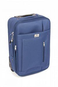 MasterGear - Valise à Roulettes - Bagage à main - Taille Cabine: 55 x 35 x 20 cm - Avec Cadenas - Bleu de la marque MasterGear image 0 produit