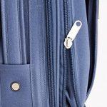 MasterGear - Valise à Roulettes - Bagage à main - Taille Cabine: 55 x 35 x 20 cm - Avec Cadenas - Bleu de la marque MasterGear image 4 produit
