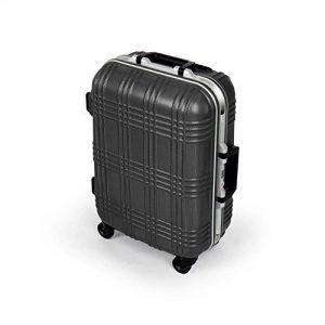 MasterGear - Valise Bagage à main / Cabine design mobiles et ultra légères - 4 roulettes (360 °) - Coque rigide ABS - Cadenas à combinaison + TSA - Tailles S - Noir de la marque MasterGear image 0 produit