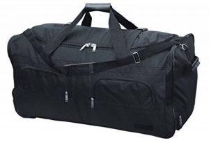 McAllister Travel System Sac de voyage avec Rolen Chariot Sac de sport Sac de voyage Noir 60L 80L 100L ou 140L - 100 litres de la marque Mc Allister image 0 produit