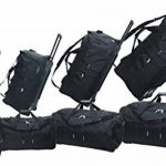 McAllister Travel System Sac de voyage avec Rolen Chariot Sac de sport Sac de voyage Noir 60L 80L 100L ou 140L - 100 litres de la marque Mc Allister image 2 produit