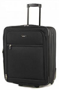 Members D'allumage Taille Cabine Ryanair, Easyjet & British Airways Conforme Bagage Main Deux Roues Chariot Valises de la marque Members image 0 produit