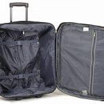 Members D'allumage Taille Cabine Ryanair, Easyjet & British Airways Conforme Bagage Main Deux Roues Chariot Valises de la marque Members image 2 produit