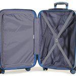 Members Oynx Coque Rigide ABS Quatre Roues Tournantes Baggage Léger Valise de la marque Members image 2 produit