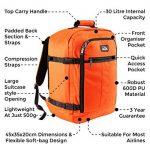 Mini Bagage à Main Sac à Dos Metz d'une Capacité de 30 Litres – 45 x 35 x 20 cm. de la marque Cabin Max image 4 produit