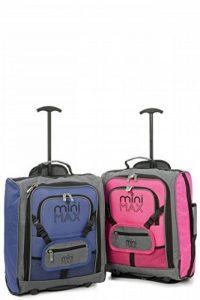MiniMax Valise Enfant Sac à Dos avec pochette pour votre jouets /poupées /nounours de la marque Aerolite image 0 produit