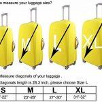 Myosotis510 Cute Housse de protection pour valises 3D 18-32 pouces de la marque Myosotis510 image 5 produit