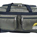 NEW Outdoor Gear Sac fourre-tout à roulettes valise chariot à bagages Sac de voyage taille M 61cm cm de la marque Outdoor Gear image 2 produit