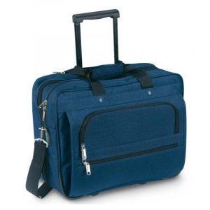 Noir sacoche affaires - valise de cabine Flight Trolley de la marque eBuyGB image 0 produit