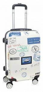 Nomad earth Valise Cabine Compagnie à Bas Prix Bagage, 56 cm, 39.5 litres, Blanc Cassé(Airmail) de la marque Nomad earth image 0 produit