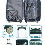 Nomad earth Valise Cabine Compagnie à Bas Prix Bagage, 56 cm, 39.5 litres, Blanc Cassé(Airmail) de la marque Nomad earth image 1 produit