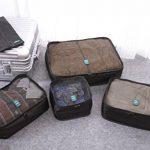Oklm Lot de 6 Sacs de rangement bagages, Organisateurs valises, Accessoires Organisateurs Voyage, Très Résistants, Conçus en Toile de Parachute de la marque Oklm image 1 produit