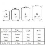 OneSky-UK Housse de bagage, Housse de protection durable lavable, taille de protection de valise pour 18-28 pouces de la marque OneSky-UK image 3 produit