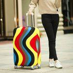 OneSky-UK Housse de bagage, Housse de protection durable lavable, taille de protection de valise pour 18-28 pouces de la marque OneSky-UK image 4 produit