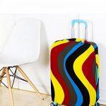 OneSky-UK Housse de bagage, Housse de protection durable lavable, taille de protection de valise pour 18-28 pouces de la marque OneSky-UK image 5 produit