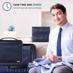 Organisateurs de voyage - BEZ® Lot de 6 Sacs de rangement bagages emballant des cubes, Bleu de la marque BEZ® image 2 produit