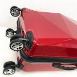 PARTYPRINCE Valise Bagage taille 68 cm ABS ultra léger rigide 4 roulettes 70L de la marque PARTYPRINCE image 4 produit