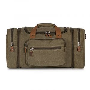 Plambag Sac de Voyage Toile Sac Cabine Sac Week-end Sac de Sports Duffel Bandoulière de la marque Plambag image 0 produit