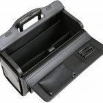 """Porte-documents à roulettes - pour ordinateur portable de 16 """"/style business/taille cabine - cuir de la marque Tassia image 2 produit"""