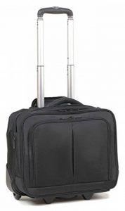 """Pour ordinateur portable 16 """"- Sac à roulettes format cabine Bagages à main Sac de cabine à roulettes - 44 x 35 x 20 cm de la marque MOKKA image 0 produit"""