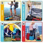 PRO Packing Cubes | Ensemble économique de sacs de rangement de voyage 4 pièces | Sacs économisant 30% de place | Organiseurs de bagage ultralégers | Idéal pour les sacs de voyage & valises de cabine de la marque Pro Packing Cubes image 3 produit