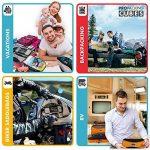 PRO Packing Cubes | Ensemble économique de sacs de rangement de voyage 4 pièces | Sacs économisant 30% de place | Organiseurs de bagage ultralégers | Idéal pour les sacs de voyage & valises de cabine de la marque Pro Packing Cubes image 4 produit