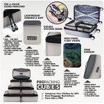 PRO Packing Cubes | Ensemble économique de sacs de rangement de voyage 4 pièces | Sacs économisant 30% de place | Organiseurs de bagage ultralégers | Idéal pour les sacs de voyage & valises de cabine de la marque Pro Packing Cubes image 2 produit