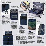 PRO Packing Cubes | Ensemble économique de sacs de rangement de voyage 5 pièces | Sacs économisant 30% de place | Organiseurs de bagage ultralégers | Idéal pour les sacs de voyage & valises de cabine de la marque Pro Packing Cubes image 2 produit