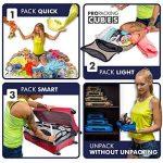 PRO Packing Cubes | Ensemble économique de sacs de rangement de voyage 5 pièces | Sacs économisant 30% de place | Organiseurs de bagage ultralégers | Idéal pour les sacs de voyage & valises de cabine de la marque Pro Packing Cubes image 5 produit