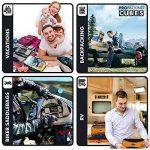 PRO Packing Cubes | Ensemble économique de sacs de rangement de voyage 5 pièces | Sacs économisant 30% de place | Organiseurs de bagage ultralégers | Idéal pour les sacs de voyage & valises de cabine de la marque Pro Packing Cubes image 4 produit