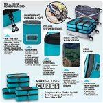 PRO Packing Cubes | Ensemble économique de sacs de rangement de voyage 6 pièces | Sacs économisant 30% de place | Organiseurs de bagage ultralégers | Idéal pour les sacs de voyage & valises de cabine de la marque Pro Packing Cubes image 2 produit