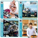 PRO Packing Cubes | Ensemble économique de sacs de rangement de voyage 6 pièces | Sacs économisant 30% de place | Organiseurs de bagage ultralégers | Idéal pour les sacs de voyage & valises de cabine de la marque Pro Packing Cubes image 4 produit