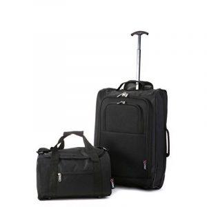 Ryanair Cabine 55x40x20 cm & deuxième sac de transport Ryanair 35x20x20 - Emmenez les deux! de la marque 5 Cities image 0 produit