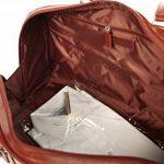 S Babila - Sac fourre-tout - taille cabine/spécial weekend - cuir de la marque S Babila image 1 produit