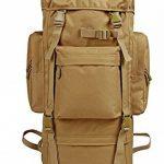 Sac à dos camouflage plein air grande capacité sac alpinisme sac à dos sac à bandoulière double de la marque GAOFENGWAN image 2 produit