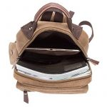Sac bandoulière Sac à dos en toile minceSac Messenger zippé pour femme et homme de la marque GENOLD image 3 produit