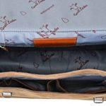 "Sac business - Gusti Cuir studio ""Philipp"" sac ordinateur portable 15.6"" sac business vintage sac notebook rétro homme femme cuir de buffle marron clair 2B15-20-5wp de la marque Gusti Cuir studio image 4 produit"