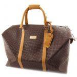 Sac de voyage 'Ted lapidus' marron de la marque Ted Lapidus image 2 produit