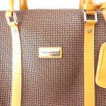 Sac de voyage 'Ted lapidus' marron de la marque Ted Lapidus image 3 produit