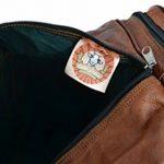"""Sac de voyage - Gusti Cuir studio"""" Toby"""" bagage cabine vintage sac de sport sac à bandoulière rétro bagage à main sac avec anses homme femme cuir de vachette marron R28b c de la marque Gusti Leder nature image 3 produit"""