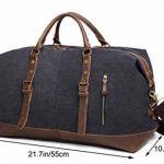 Sac de voyage toile et cuir homme - comment acheter les meilleurs modèles TOP 0 image 4 produit