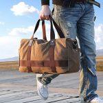 Sac de voyage toile et cuir homme - comment acheter les meilleurs modèles TOP 6 image 1 produit