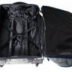 Sac trolley Marseille | Bagage Léger IATA Adapté à la Cabine 55x35x20cm | Bagage À Main Approuvé | Adapté à Ryanair, EasyJet et Monarch de la marque Cabin Max image 2 produit