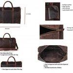 Sac voyage cuir homme bagages, comment choisir les meilleurs modèles TOP 0 image 2 produit