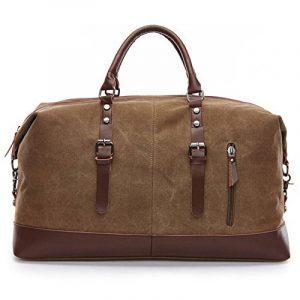 Sac voyage cuir homme bagages, comment choisir les meilleurs modèles TOP 1 image 0 produit