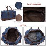 Sac voyage cuir homme bagages, comment choisir les meilleurs modèles TOP 1 image 3 produit