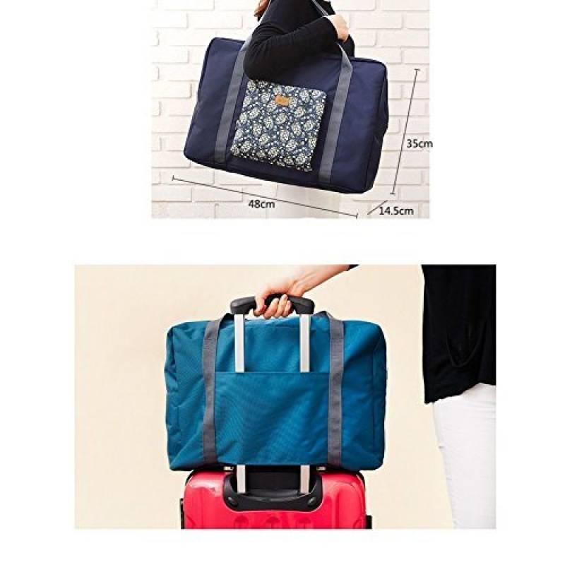 NOV GO® Sac de voyage en Nylon pliable et léger (Bleu) VzxY6t