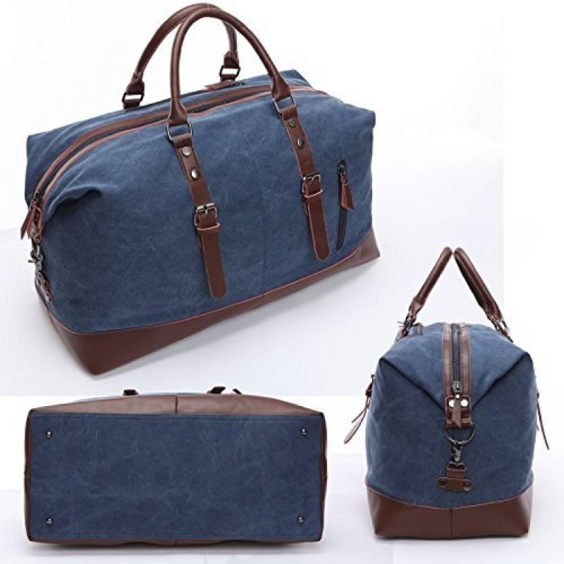 883312a6ba Intro. Affichant 2 retours client et une note de 5 étoiles cette sac  weekend cuir ...