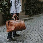 Sac weekend homme cuir marron - acheter les meilleurs produits TOP 11 image 3 produit